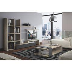 Table basse Denver Denver, Shelving, Conference Room, Furniture, Composition, Home Decor, Tv, Diy Ideas For Home, Home Decoration