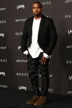In honor of Father's Day, the 40 best dressed celebrity dads: Kanye West