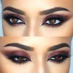 Eye Makeup Look for Brown Eyes