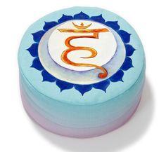 Chakrameditationskissen von HORN  auf DaWanda.com