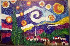 famous bottle cap mosaics - Google Search