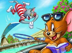 ♥ Tom & Jerry ♥ Tom And Jerry Quotes, Tom And Jerry Pictures, Tom And Jerry Cartoon, Cartoon Movies, Cartoon Art, Cartoon Characters, Tom And Jeery, Cartoon Network 90s, Tom And Jerry Wallpapers