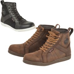 The Akito Citizen Motorcycle Boots are a trendy pair of bike boots disguised as fashionable hightop shoes. Meeting up with friends or riding to a party? Wear a pair of these, hop off the bike and stroll on in- no one'll even know.