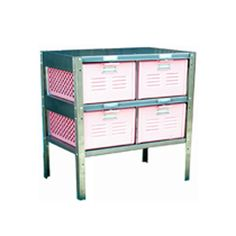 Basket Locker 2x2 Pink now featured on Fab.