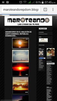 MI BLOG. PURO DOMINICANO. PAISAJES, SUS GENTES, SU FOLKLORE Y HASTA SUS OCURRENCIAS. www.maroteandorepdom.blogspot.com