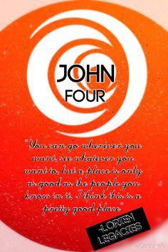 John Four Lorien Legacies