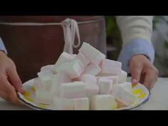 Faça Seus Marshmallow! Receita Simples - YouTube