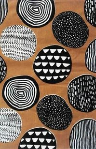 Oh, cool coaster idea Circles - Abbey Withington Motifs Textiles, Textile Patterns, Print Patterns, Tribal Patterns, Surface Pattern Design, Pattern Art, Aboriginal Art, Mark Making, Art Plastique