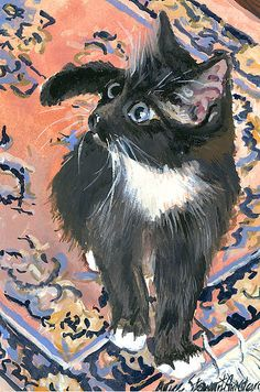 On the rug - Alice Grimsley