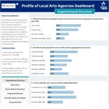 Data at your Fingertips: Presenting the New Profile of Local Arts Agencies Dashboard