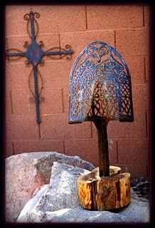 Repurposed Shovel Sculpture - Art