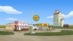 CORNER GAS | A sneak peek at an animated version of Corner Gas was unveiled on Dec. 19, 2016 | Corner Gas, the iconic sitcom set in Saskatchewan, is returning to the airwaves in cartoon form. Show producers announced in a news release Monday they're working on 13 episodes of an animated series that will star the voices of Brent Butt and most of the cast from the live-action version, which ended its six-season run in 2009. | CBC • December 19, 2016