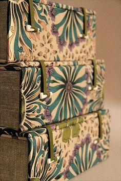 Detalhes das caixas by Zoopress studio, via Flickr