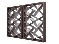 Freestanding double-sided bookcase SHANGHAI by ALIVAR design Giuseppe Bavuso