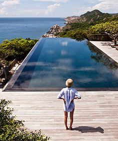 Beach Resort 2.0: Amanoi, Vinh Hy Bay, Vietnam Hidden in a bay in Nui Chua National Park, one of Vietnam's largest nature reserves, the n...