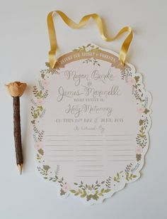 Custom Wedding Certificate $115.00 by firstsnowfall on Etsy. Lots of rooms for witnesses to sign. Might be a nice guest book for smaller weddings!