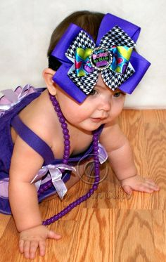 A So Many Bows So Little Hair Bottle Cap Bow by SkyLynnClips