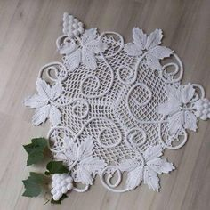 Crochet Butterfly Pattern, Free Crochet Doily Patterns, Crochet Motif, Crochet Doilies, Crochet Flowers, Freeform Crochet, Filet Crochet, Irish Crochet, Crochet Tablecloth Pattern