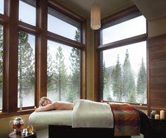 Spa Treatments with a View - Ritz Carlton Spa, Lake Tahoe
