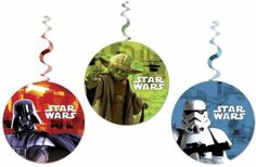 Star Wars draaislingers 3 st. Star Wars, Decoration, Christmas Bulbs, Stars, Holiday Decor, Hanging Decorations, Decor, Christmas Light Bulbs, Sterne