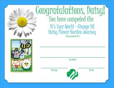 watering can award coloring pages daisies - Google Search