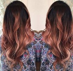 Rose gold hair -- aka the absolute coolest way to pay homage to Glinda the Good.