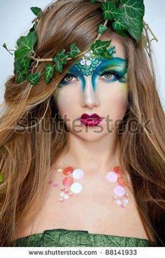 mother earth face painting designs - Google Search