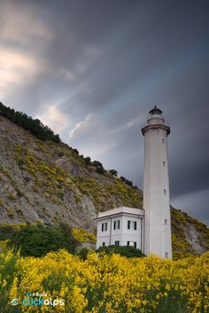 Mediterranean Lighthouse by Paolo Bolla