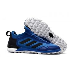 new product cfac2 8973f 2017 Adidas ACE Tango 17+ Purecontrol TF Botas De Futbol Azul Negro Blanco. Adidas  Ace, Adidas Soccer Shoes ...