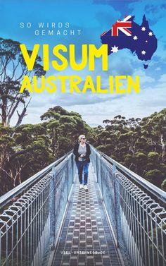 Touristenvisum für Australien beantragen - Das musst du wissen! Australia Visa, Australia Travel Guide, Visit Australia, Great Barrier Reef, Brisbane Queensland, Work Travel, Dream Vacations, Top Vacations, Van Life
