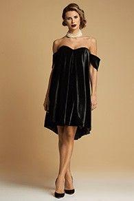 Rochie Scurta Clopot de Catifea cu Corset - Black Velvet Short Evening Dress Push-up included Aw 2017, Dress Making, Evening Dresses, Strapless Dress, Product Description, Couture, Black Velvet, Corset, Up