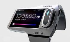Más compacto que un teléfono celular aún más grande que un reloj, tiene un completo 2.2 pulgadas táctil pantalla junto con un auricular integrado para tomar llamadas y streaming de música. holla_002