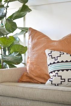 Vintage Revivals | 12 Projects To Make From An Old Leather Couch                                                                                                                                                                                 More