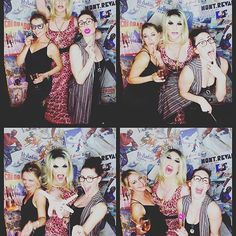 I think these three people were my favourite from last night. So funny! www.whitelabelbooth.co.uk