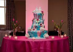 wedding cake, cake toppers