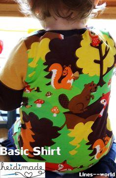 Freebook... Basic Shirt von Heidimade