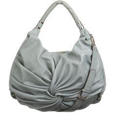 Aqua large Monroe shoulder bag, found on #polyvore. #bags women+handbags &amp purses