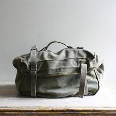 US military canvas field pack....awesome.
