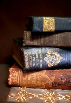 Old Books. I love the smell of a used book store....