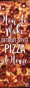 Get Detroit-Style Pepperoni Pizza Recipe from Food Network Detroit Style Pizza Recipe, Detroit Pizza, Upside Down Pizza, Pizza Cartoon, Pizza Recipes Pepperoni, Buffalo Chicken Pizza, Breakfast Pizza, Italian Dishes, Recipe Using