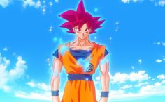 Goku Super Saiyan God Live Wallpaper