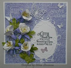 Columbines by Selma - Cards and Paper Crafts at Splitcoaststampers