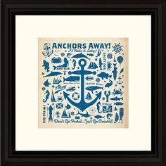 Anchors Away Wall Art