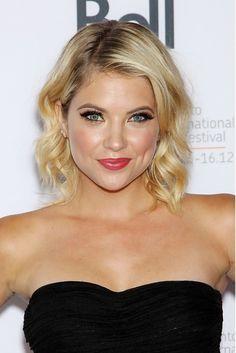 Ashley-Benson's short hairstyles