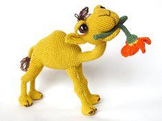 Quasimodo the Camel  Amigurumi Crochet Pattern by IlDikko on Etsy, $6.20
