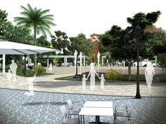 Proyecto de reforma urbana para diversos espacios de #Mijas por #Dika. #estudio #studio #proyecto #project #mijas #málaga #costadelsol #diseño #design #graphic #gráfico #fotomontaje #photomontage #arquitectura  #architecture #infografía #infographic #infoarquitectura #infoarchitecture #modelado #modeling #maqueta #model #urbanismo #espacios #spaces  #urban #3D
