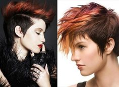 2014 Mohawk Hairstyles | Hairstyles 2015 For short, long and medium hair, trends and color Ideas