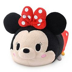 Disney Minnie Mouse ''Tsum Tsum'' Plush - Medium - 11'' | Disney StoreMinnie Mouse ''Tsum Tsum'' Plush - Medium - 11'' - Disney's cutest characters have become even cuter with our ''Tsum Tsum'' Plush Collection. Already a hit in Japan, now you can collect Minnie and all her soft, cuddly friends in North America in a variety of sizes, each sold separately.