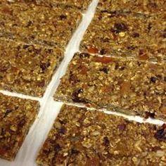 Delicious power bars - great recipe