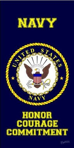 Navy United States Armed Forces Military... Navy Beach Towel